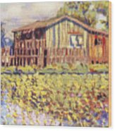 Shirley Russel Art Wood Print