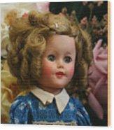 Shirley Temple Doll Wood Print