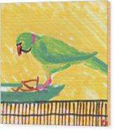 Shirley's Bird Wood Print