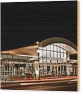 Shirlington Station Wood Print