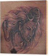 Shiva Mahadev Wood Print