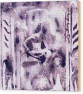 Shiva P1 Wood Print