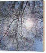 Shivering Timbers Wood Print