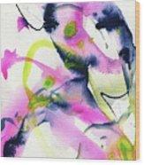 Shock Of Pink 1 Wood Print