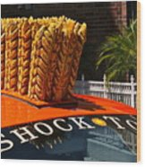 Shock Top Wood Print