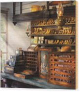 Shoe Maker - Shoes For Sale Wood Print