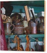 Shoemaker Supplies Wood Print