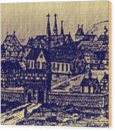 Shoenou Monastary Germany Wood Print