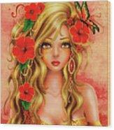 Shona Wood Print