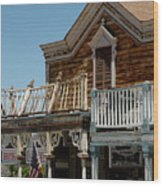 Shooting Gallery Virginia City Nv Wood Print