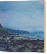 Shore Of Loneliness Wood Print