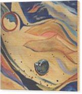 Shorelines Wood Print