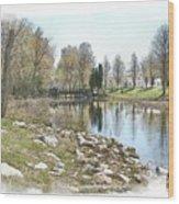 Shorey Park Wood Print