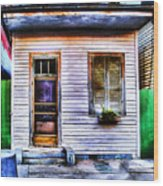 Shotgun House Number 3 Wood Print