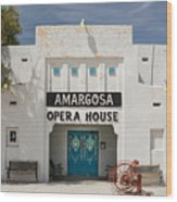 Show Tonight Amargosa Opera House Wood Print