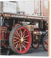 Showmans Engine Wood Print