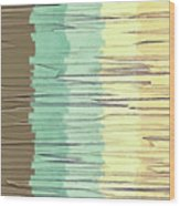 Shreds Of Color 2 Wood Print
