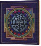 Shri Yantra Wood Print