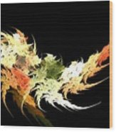 Shrimp Wood Print