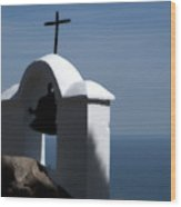 Shrine Of Calvario Wood Print