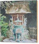 Shrine Wood Print