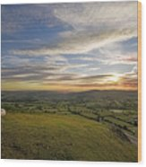 Shropshire Wood Print