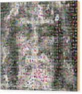 Shroud Of Turin Wood Print