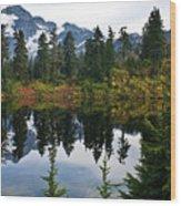 Shuksan Vista Wood Print