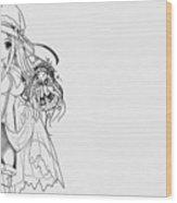 Shukufuku No Campanella Wood Print