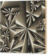 Shurikens Wood Print
