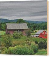 Shushan Barn 5807 Wood Print