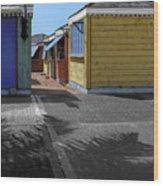 Shutters II Wood Print
