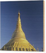 Shwedagon Paya Wood Print