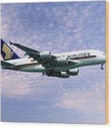 Sia A380 9v-ska Wood Print