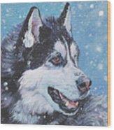 Siberian Husky Wood Print