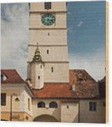 Sibiu Wood Print