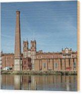 Sibley Mill Wood Print