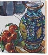 Sicily Memories Wood Print