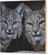 Side By Side Wood Print