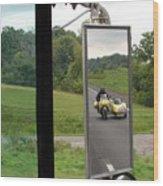 Side Car Framed Wood Print