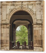 Side Entrance Of Copala Church Wood Print