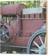 Side Of Mccormic Deering Tractor   # Wood Print