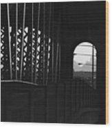 Side Of The Bridge  Wood Print