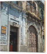 Side Street Homes Antiqua Guatemala 3 Wood Print