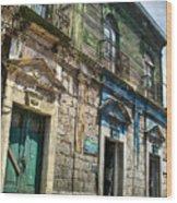 Side Street Homes Antiqua Guatemala 5 Wood Print