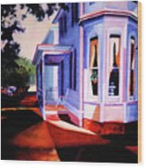 Side Street - Lambertville Wood Print