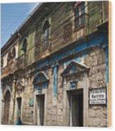 Side Street Quezaltenango Guatemala Wood Print