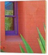 Side View Wood Print