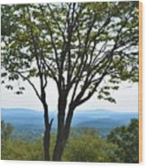 Sideling Hill Lookout  Wood Print
