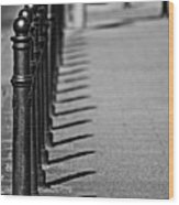 Sidewalk Wood Print